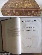 Enciclopedia Italiana e Dizionario della conversazione, Vol. 2 (1838) ed. Tasso