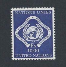 1969 United Nations Geneva Peace, Justice & Security SG G 15 MUH