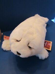 "New With Tags DAKIN WHITE SEAL Stuffed SOFT Plush 19"" Lou Rankin Friends SPENCER"