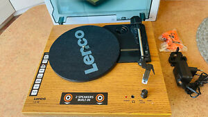 Piece Lenco Turntable LS-10 Wood Wooden Record Player Turntable