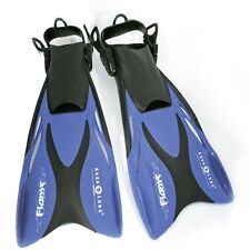3036bfb5715c8 Aqualung FLAME JUNIOR einstellbare Schwimmflossen für Kinder blau S/M 27-32