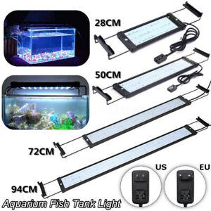 For 30-115cm Dimmable Aquarium Fish Tank LED Light Multi-Color Plant     F