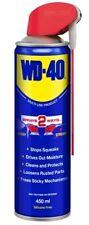 WD 40 450ml Lubricant Spray Clean Multi Purpose Smart Straw Penetrating Oil