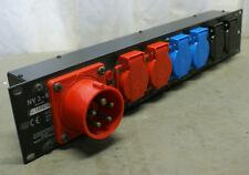 KME Stromverteiler für Rackmontage NV 3/6 /B
