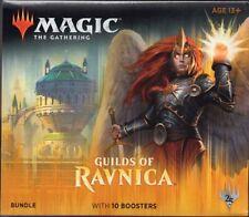 RAVNICA: GUILDS of RAVNICA  X1  MAGIC MTG BUNDLE  X10  BOOSTER PACKS   WOTC 2019