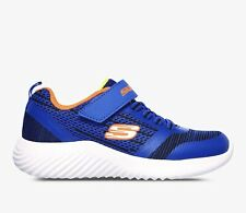 Skechers Bounder Boys Trainers with Memory Foam in Electric Blue