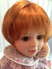 *New* Monique Tara Copper Doll Wig, Sz 10-11 fits American Girl, etc.