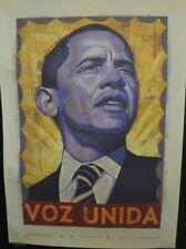 Barack Obama Voz Unida 2008 Presidential # 179/1000 Rafael Lopez