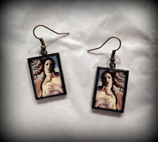 The Birth of Venus Sandro Botticelli Earrings Handmade Polymer Clay