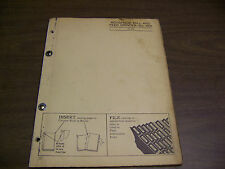 12040 John Deere Parts Catalog Pc-429 Roughage Mill Feed Grinder 114A 114 A 3-56