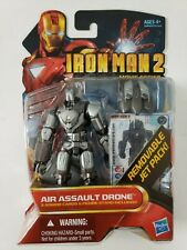 Iron Man 2 Movie Series 3.75'' AIR ASSAULT DRONE Marvel Hasbro Factory Sealed