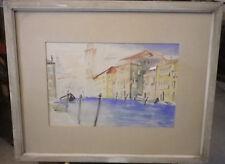Aquarell sig. J. Bartsch, Venedig ? um 1955,