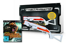 CABELAS DANGEROUS HUNTS 2013 + Top Shot fearmaster GUN PISTOLA PLAYSTATION 3 ps3