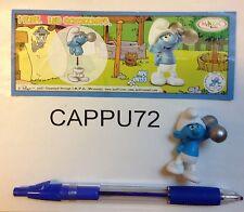 PUFFI 2 SCHTROUMPF SCHTROUMPF COSTAUD+ CARTE UN133 kinder surprise