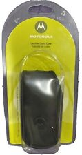GENUINE Motorola Vintage StarTAC Leather Case NEW  pouch belt clip holster