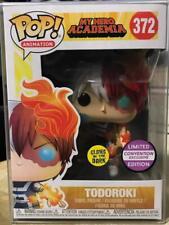 POP Animation My Hero Academia Todoroki Glow in The Dark Funko Pop Convention Ex