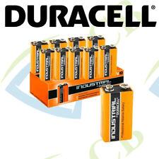 10x Duracell Industrial S3859 9V Alkaline Plus Battery Batteries