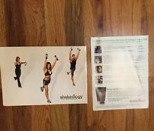 Beachbody Shakeology The Workouts 2-Disc Dvd Workout Set 30 50 Excersize