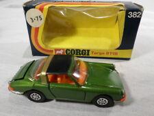 g Corgi BOXED 382 Porsche Targa 911S Green Black Gold Roof