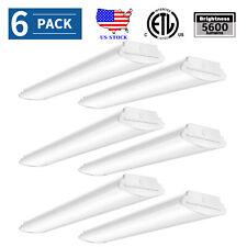 "48"" Led Garage Shop Light 50W Led Utility Frosted Ceiling Fixtures 5600lm 4000K"