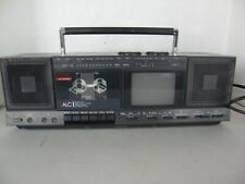 VINTAGE GPX PORTABLE STEREO AM/FM RADIO/B&W TV/CASSETTE RECORDER