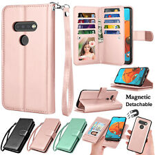 For LG K51 Reflect Q51 Flip Leather Wallet Case Magnetic Stand Cover Card Holder