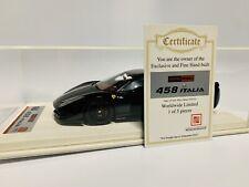 1/18 APM Ferrari 458 Italia Novitec Black ltd 5 pcs Davis Giovanni