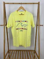 VTG 1991 Racerunners Beach Retreat Single Stitch Short Sleeve T-Shirt Size L USA
