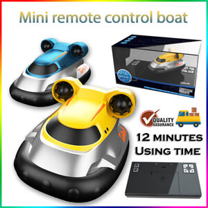 2.4G RC Racing SpeedBoat Remote Control Hovercraft Boat For Adult Kids Toy Gift