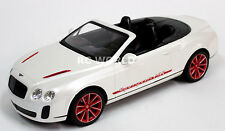 R/C 1/14 Radio Control Car RC BENTLEY CONTINENTAL Super Sport CONVERTIBLE White