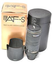 Boxed Nikon 80-200mm 2.8D IF ED AF-S Lens