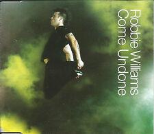 ROBBIE WILLIAMS Come Undone UNRELEASE& VIDEO &PHOTO GALLERY CD Single USA seller