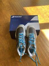 Babolat Jet Mach I Ac Women Tennis Shoes 8.5 Us 40 Eur Silver / Horizon Blue