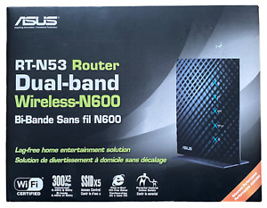 ASUS RT-N53 300 Mbps 4 Port Dual Band Router Wireless N600 Parental Control