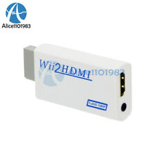 Wii2HDMI converter Adapter Wii to HDMI Audio HDMI 1080P 720P for 480i 480p NTSC