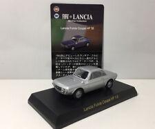 Kyosho 1/64 Lancia Fulvia Coupe Hf 1.6 Diecast Car Model Silver