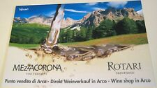 Advertising Wine Mezzacorona Rotari Arco Lake Garda Italy - unposted