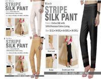 Ladies Pakistani Indian Party Silk Style Cigarette Latest Fashion Trouser Pant