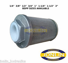 """1/4"""" 3/8"""" 1/2"""" 3/4"""" 1"""" 1-1/4"""" 1-1/2"""" 2"""" BSP HYDRAULIC SUCTION FILTER/STRAINER"""