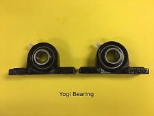 "1"" inch Pillow Block Bearing UCP205-16 (2pcs) Solid Base - High Quality"