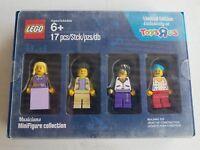 Lego Minifigures Toysrus 2016, musicians collection, hippie, singer, blue hair