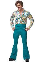 70's Disco Dude Men Adult Costume (Green)