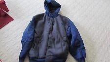 New Men's Fleeced Bike Hooded Winter Jacket ($50) size Large