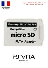 Adaptateur SD2VITA PRO SD2 VITA Carte Mémoire Micro SD Playstation Vita PSV V6.0
