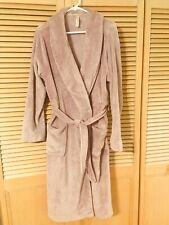 Gilligan & Omalley Luxurious Bath Robe Size XL Lilac /purple Calf Length