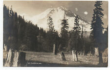 1920s AZO RPPC Postcard of a View of Mt Shasta CA