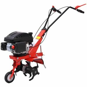Garden Powerful Petrol Gasoline Soil Cultivator Tiller 5 HP 2.8 kW 2800 rpm