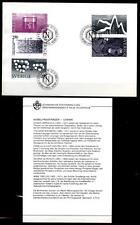 Nobelpreisträger für Chemie. FDC+Beschreibung. Schweden 1983