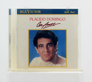 Placido Domingo - Con Amore - Music CD Album - Good Condition