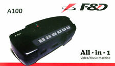 New F&D A100 Media Player All in one Video/Music Machine(USB/SD CARD ) With FM